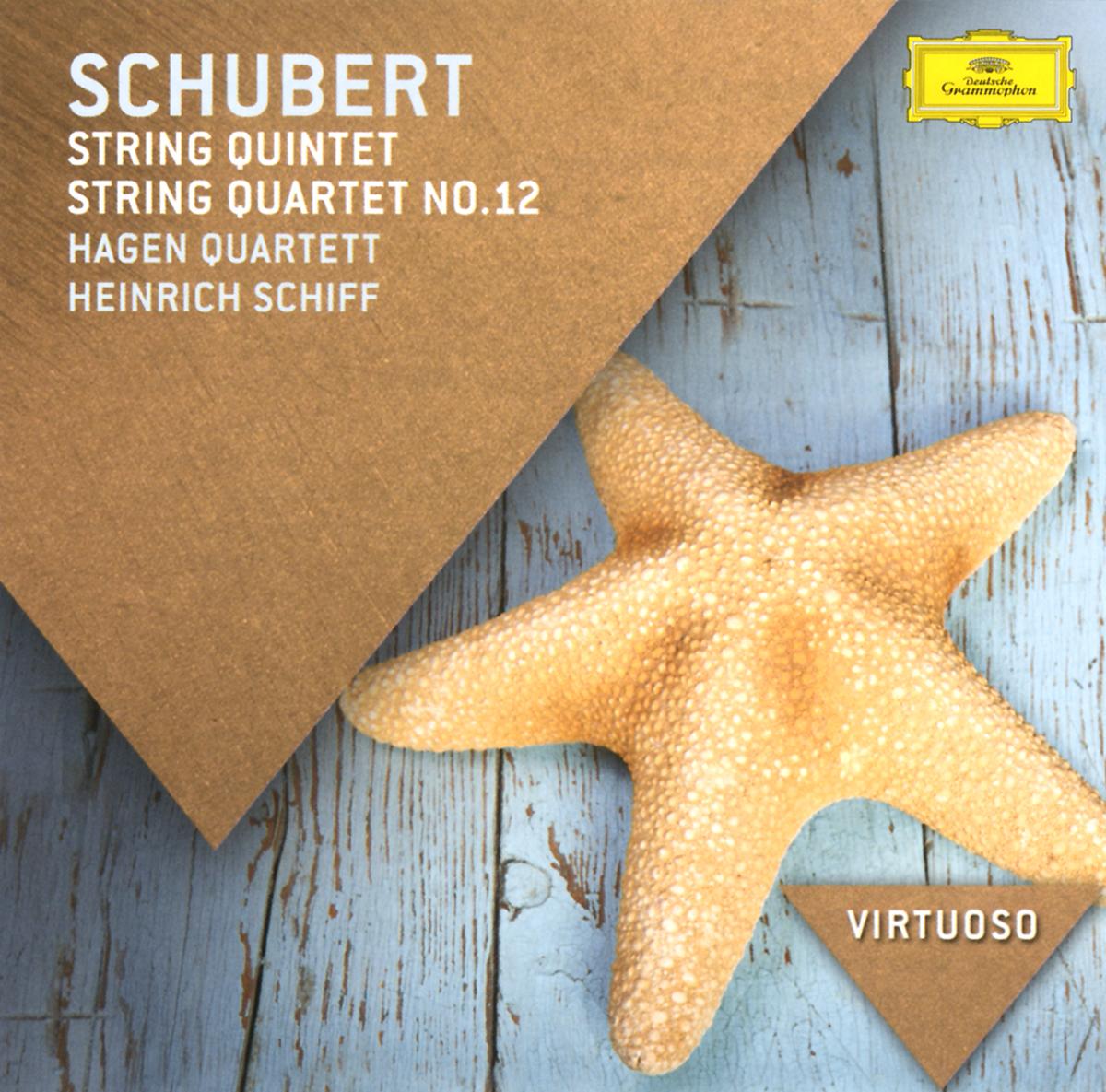 Hagen Quartett,Генрих Шифф Hagen Quartett. Schubert. String Quintet / String Quartet No. 12 farid hagen