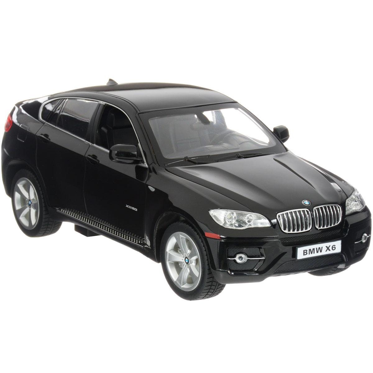 Rastar Радиоуправляемая модель BMW X6 цвет черный цена