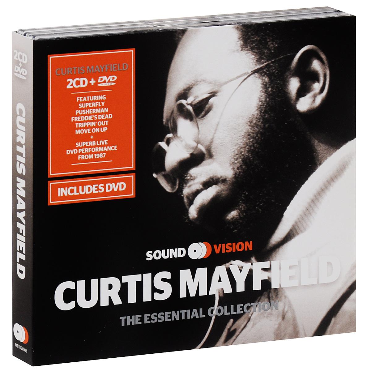 Кертис Мэйфилд Curtis Mayfield. The Essential Collection (2 CD + DVD) curtis mayfield curtis mayfield keep on keeping on curtis mayfield studio albums 1970 1974 4 lp 180 gr