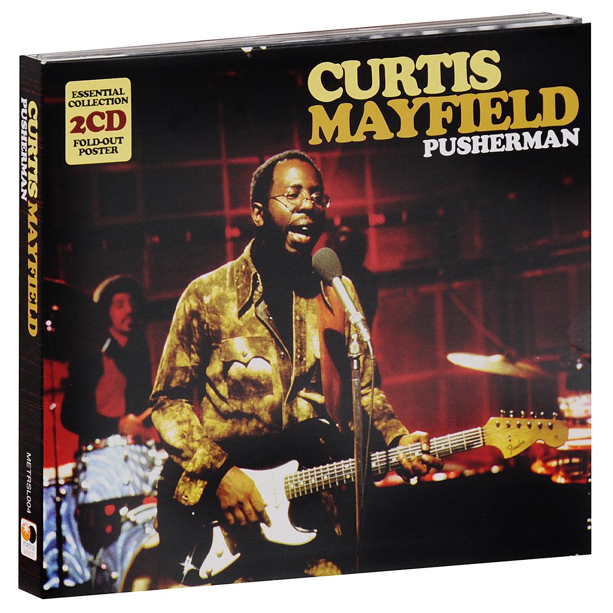 Кертис Мэйфилд Curtis Mayfield. Pusherman (2 CD) curtis mayfield curtis mayfield curtis