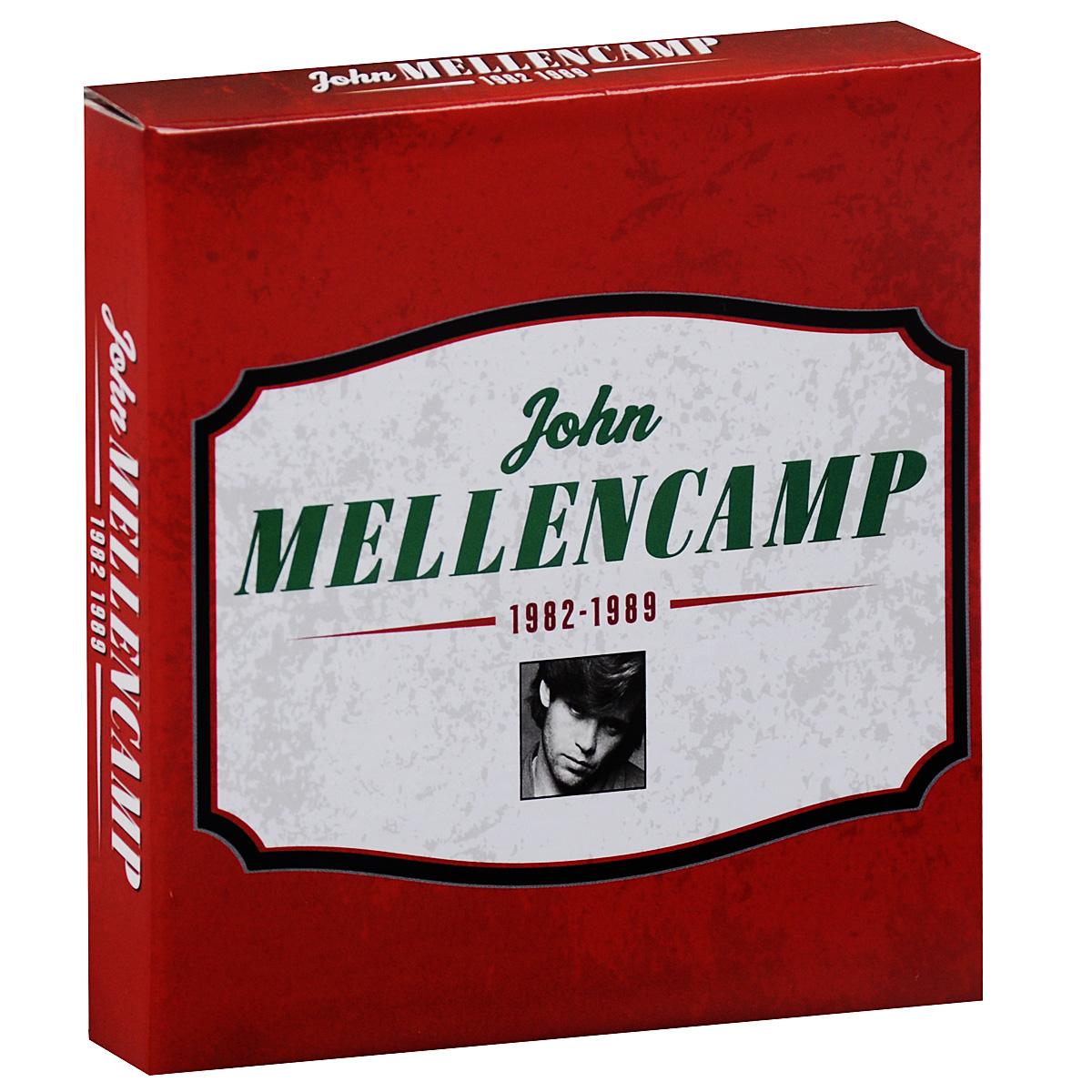 лучшая цена Джон Мелленкамп John Mellencamp. 1982-1989 (5 CD)