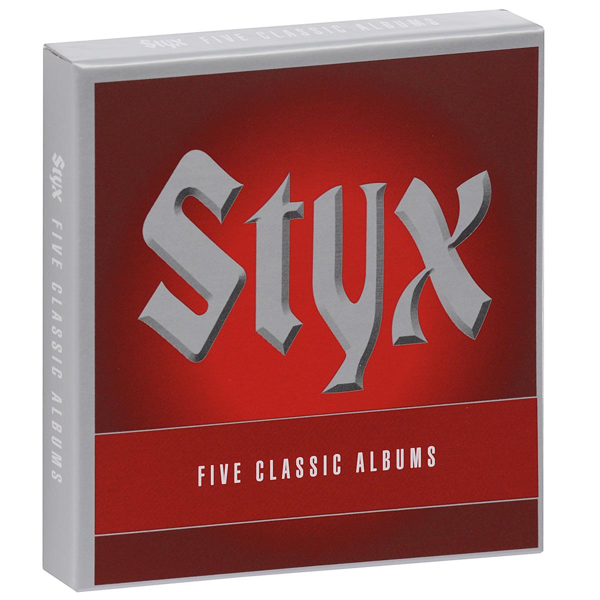 Styx Styx. Five Classic Albums (5 CD) styx styx paradise theater