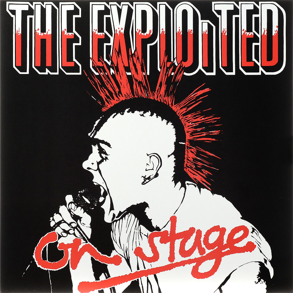 The Exploited The Exploited. On Stage. Limited Edition (LP) on the bright side