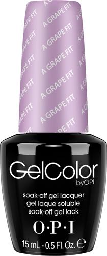 OPI Гель-лак GelColor A Grape Fit, 15мл цена