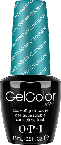 "OPI Гель-лак GelColor ""Can't Find My Czechbook"", 15 мл"