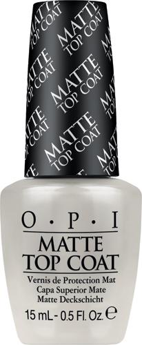 OPI Верхнее покрытие для создания матового эффекта Matte Top-Coat, 15 мл opi gelcolor top coat верхнее покрытие 15 мл