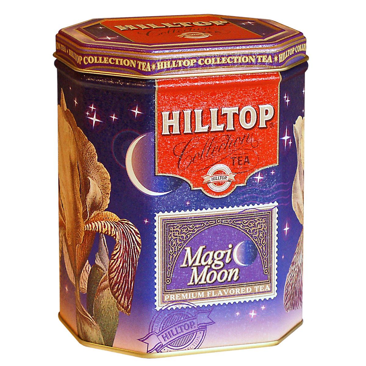 Hilltop Волшебная луна черный листовой чай, 100 г teabreez волшебная ночь чай листовой 100 г