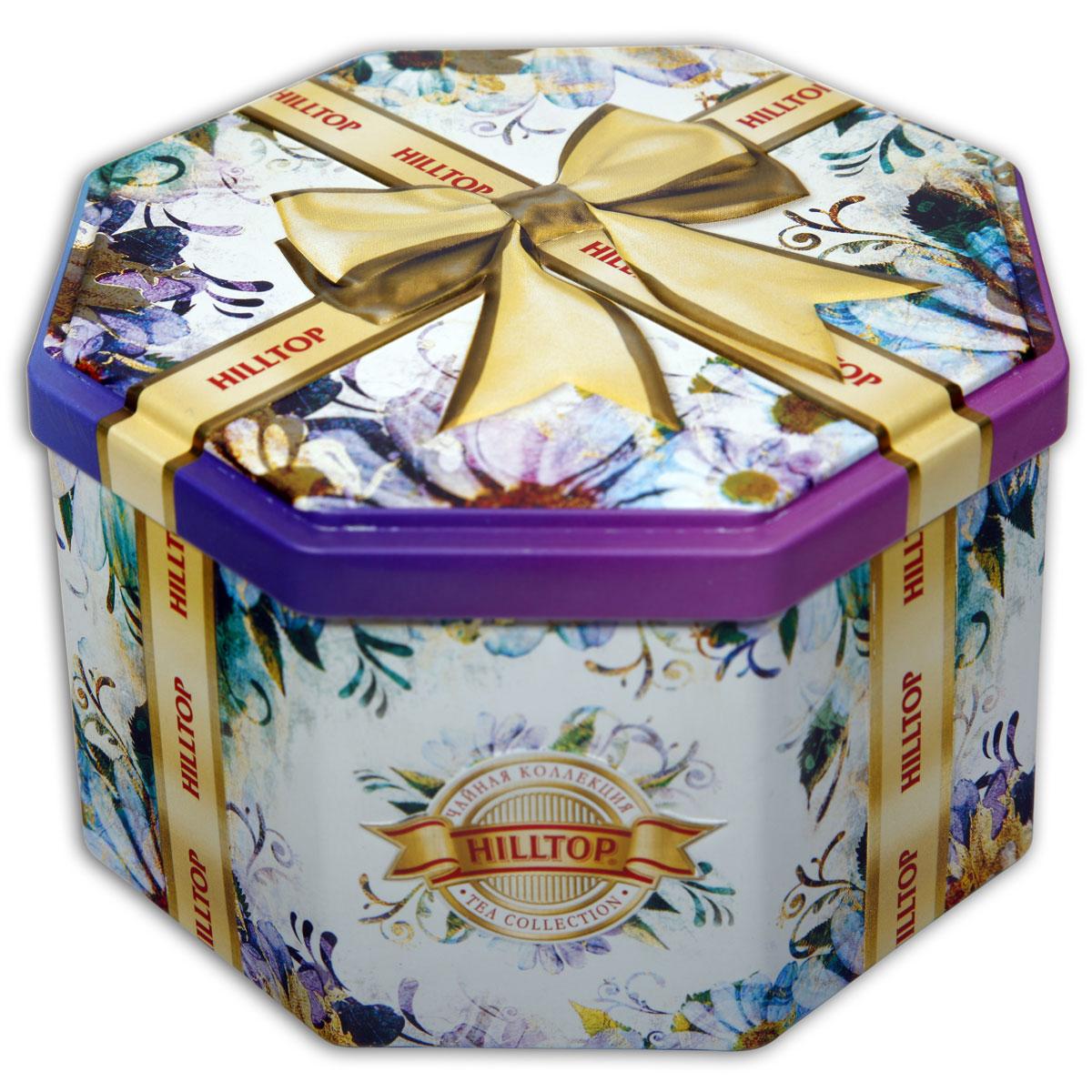Hilltop Золотой бант ароматизированный листовой чай, 150 г hilltop музыкальный колокольчик снежные узоры молочный оолонг ароматизированный листовой чай 100 г