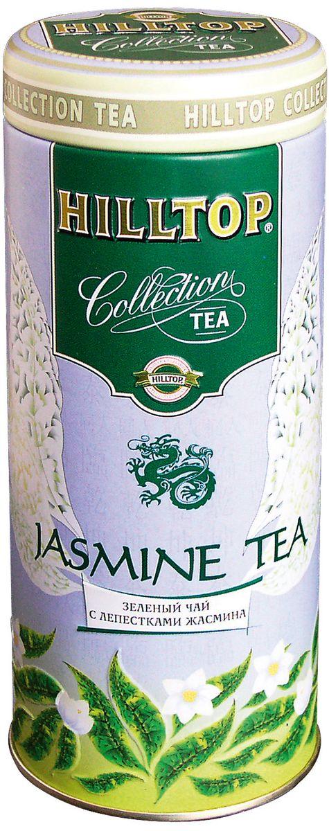 цена Hilltop Jasmine Tea зеленый листовой чай, 100 г онлайн в 2017 году