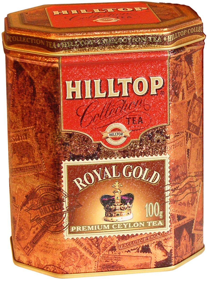 Hilltop Королевское золото черный листовой чай, 100 г hilltop пасхальный подарок черное золото черный листовой чай 80 г