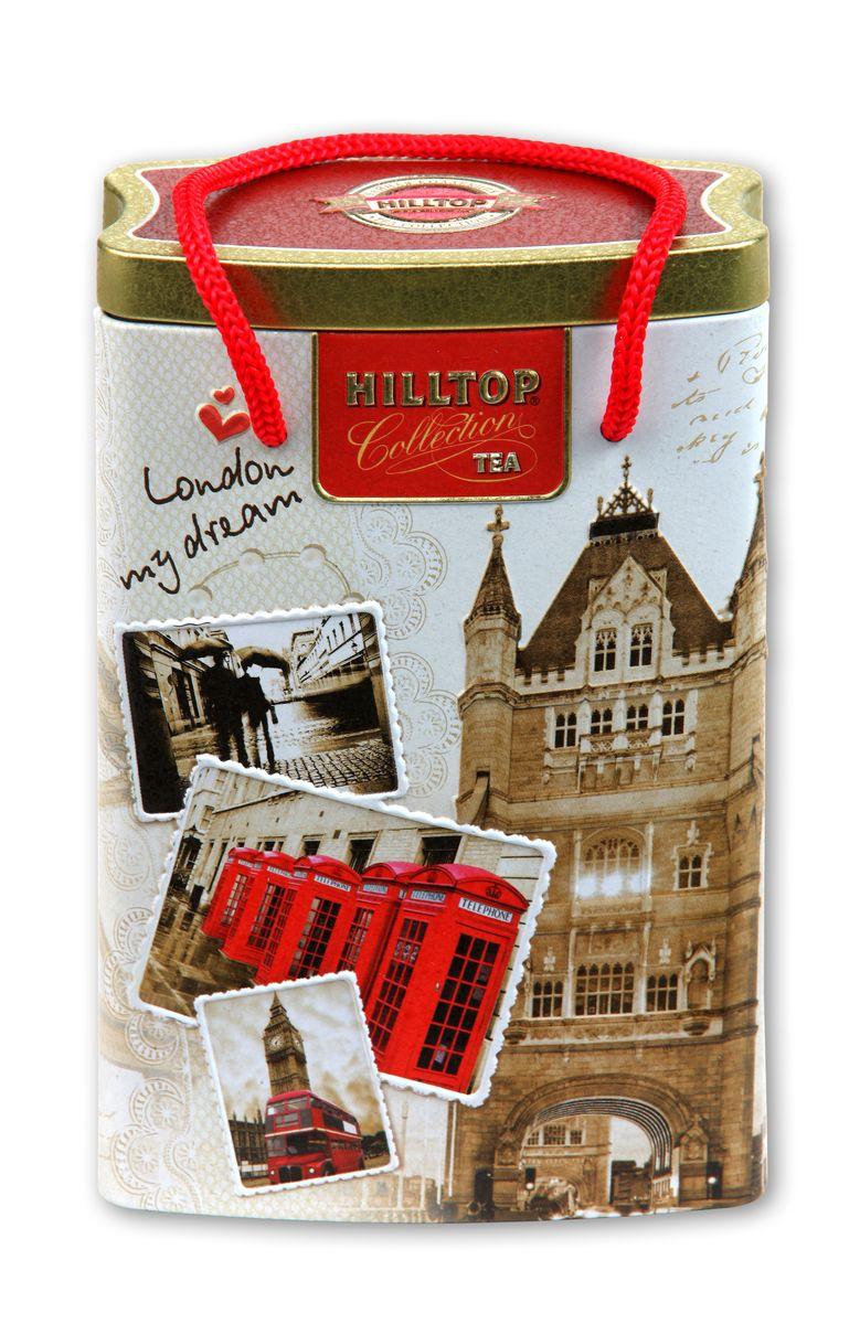 Hilltop Прогулки по Лондону черный листовой чай, 125 г