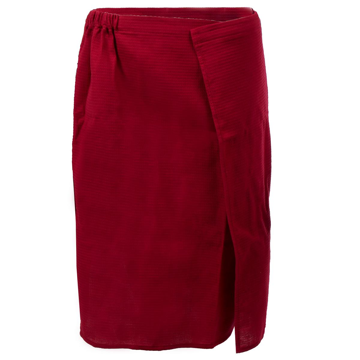 Килт для бани и сауны Банные штучки, мужской, цвет: малиновый килт для бани и сауны банные штучки мужской цвет в ассортименте