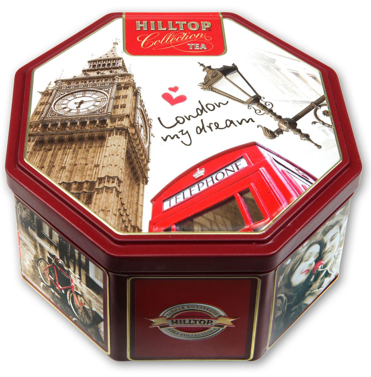 Hilltop Прогулки по Лондону черный листовой чай, 150 г