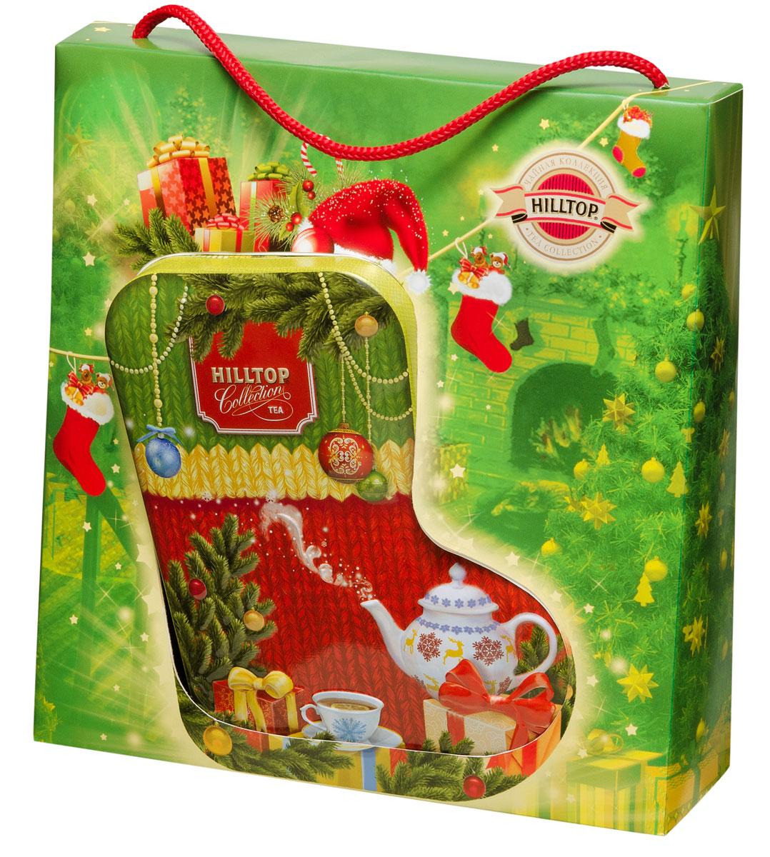 Hilltop Новогоднее чаепитие чайный набор hilltop новогодние подарки чайный набор