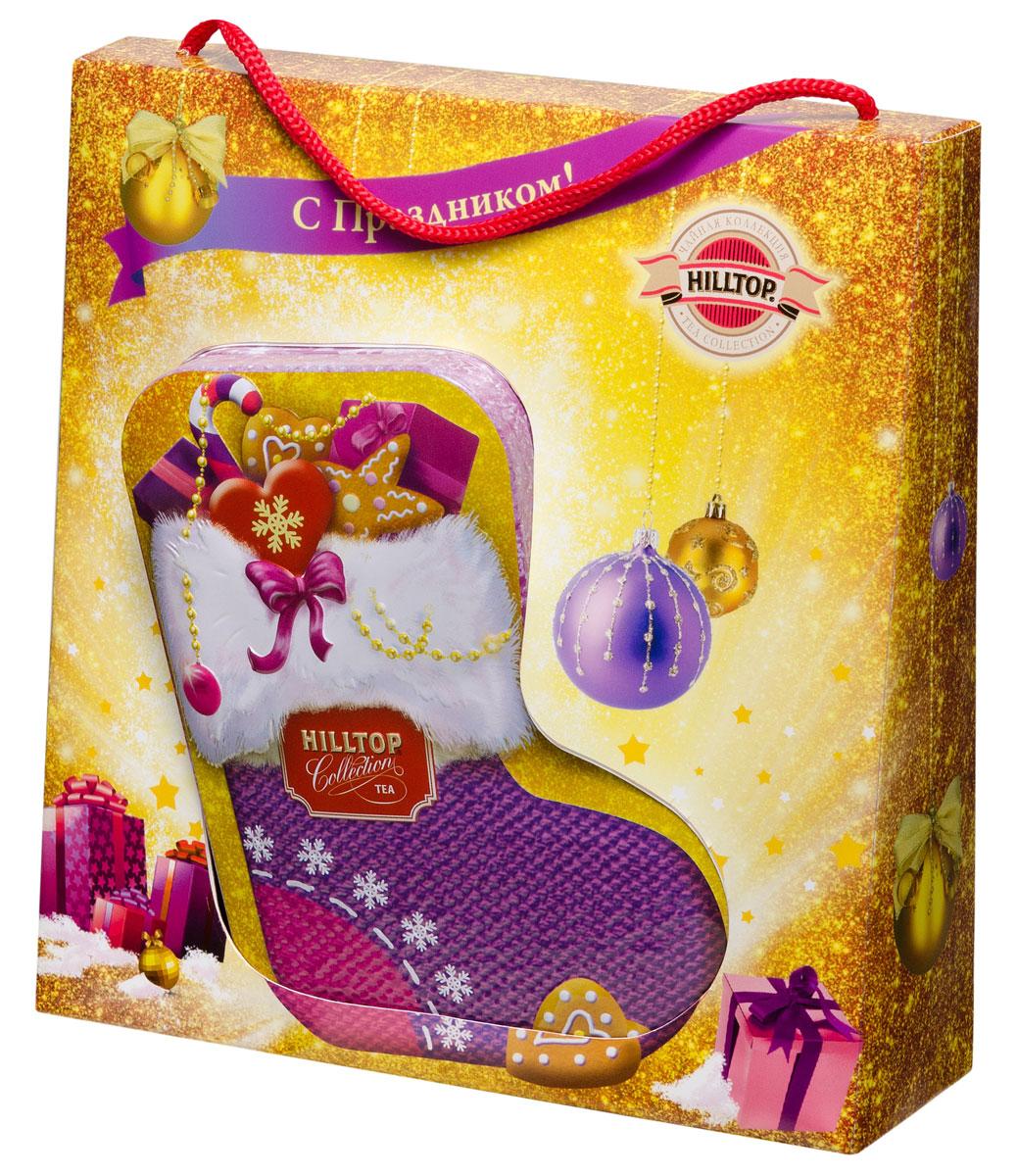 """Hilltop """"Новогодние подарки"""" чайный набор"""