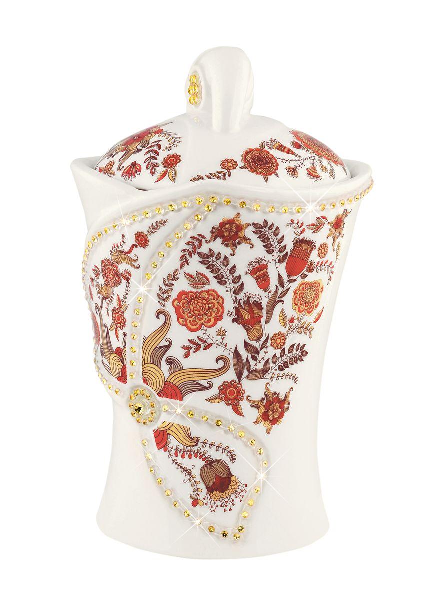 Hilltop Королевское золото черный листовой чай в чайнице Цветочный орнамент, 100 г hilltop утреннее чаепитие черный листовой чай королевское золото в футляре 80 г