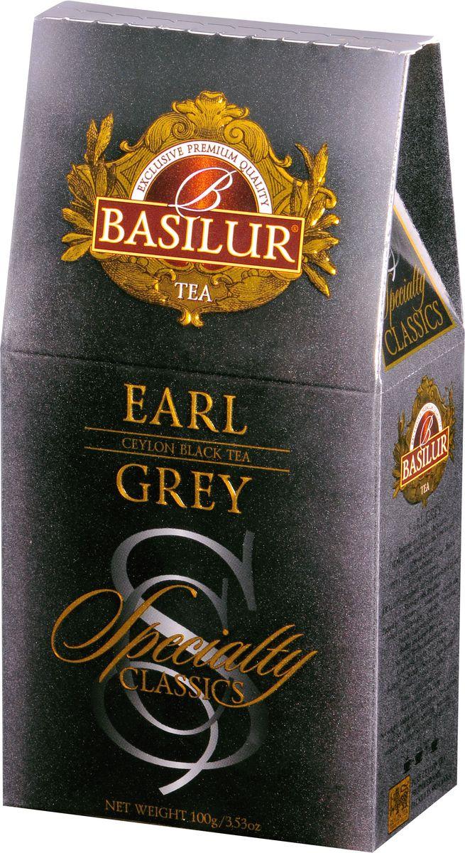 Фото - Basilur Earl Grey черный листовой чай, 100 г greenfield earl grey fantasy черный листовой чай 200 г