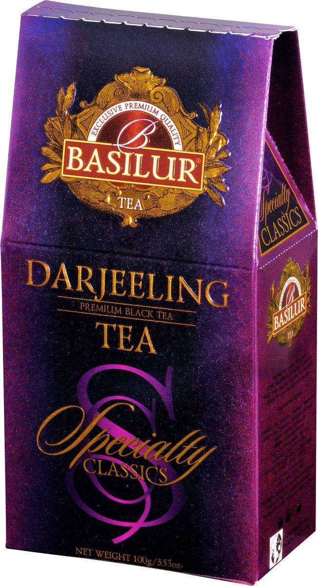 Basilur Darjeeling черный листовой чай, 100 г basilur frosty day черный листовой чай 100 г