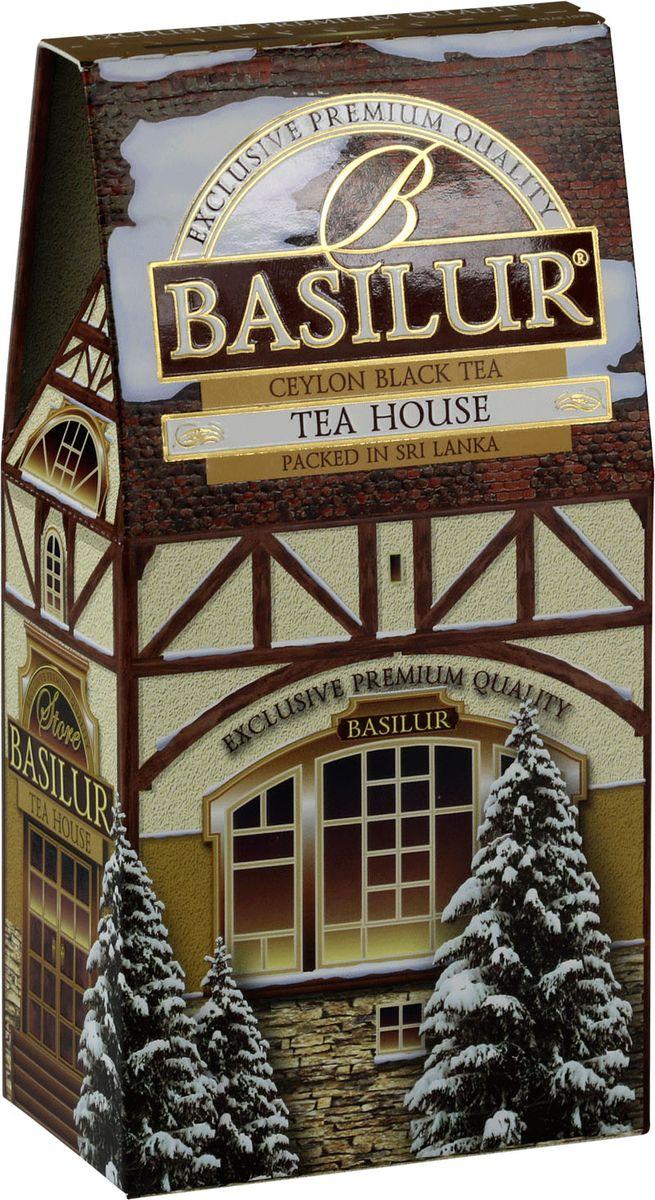 Basilur Tea House черный листовой чай, 100 г basilur frosty day черный листовой чай 100 г