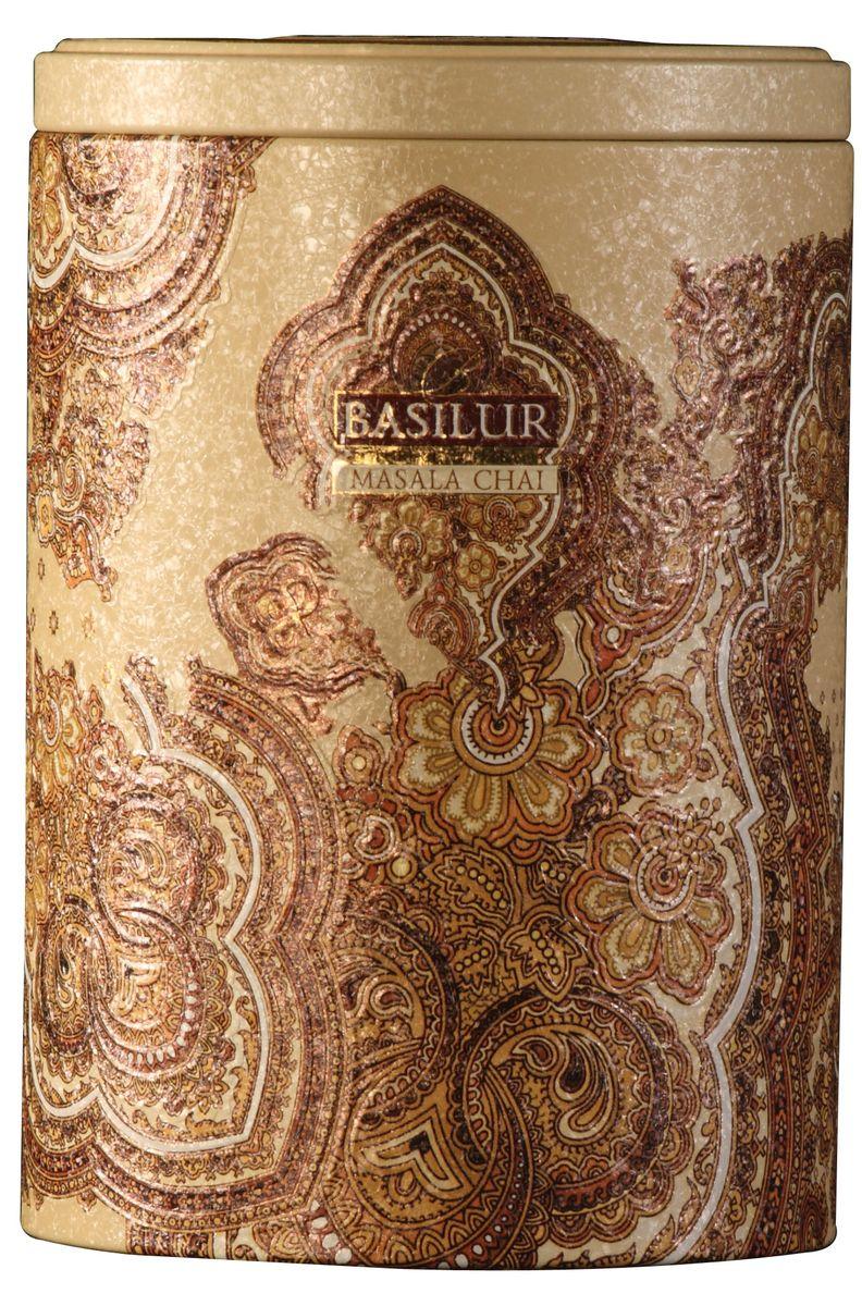 цены на Basilur Masala Chai черный листовой чай, 100 г (жестяная банка)  в интернет-магазинах