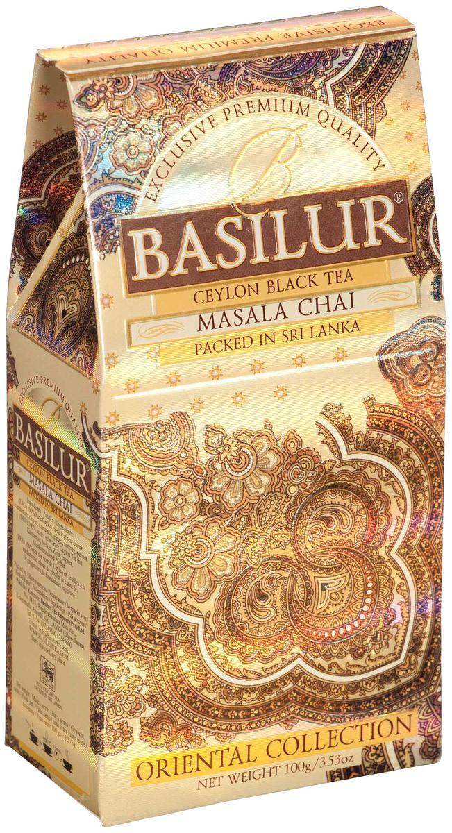 цены на Basilur Masala Chai черный листовой чай, 100 г  в интернет-магазинах