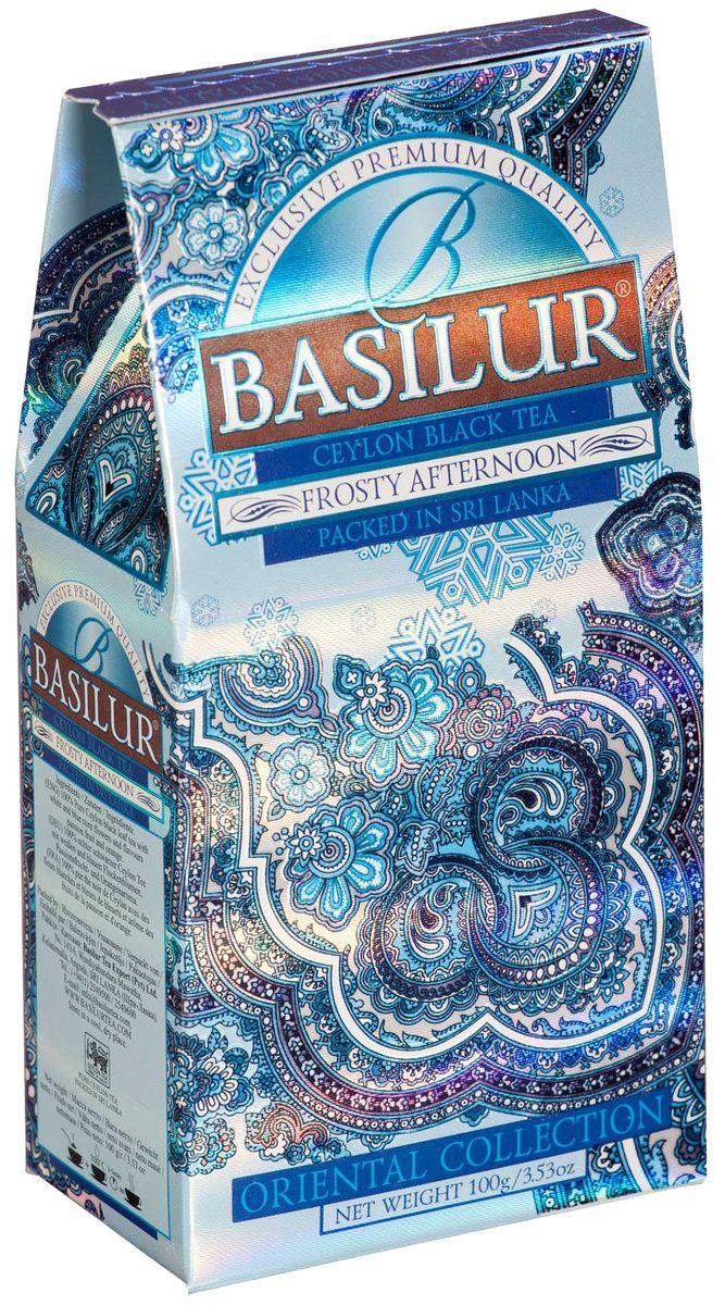 Basilur Frosty Afternoon черный листовой чай, 100 г basilur frosty evening черный листовой чай 100 г