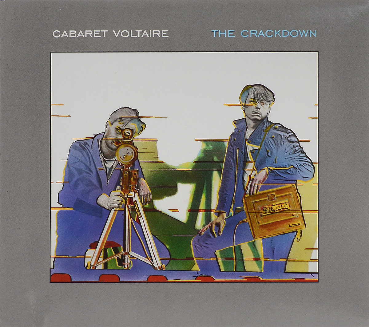 Cabaret Voltaire Cabaret Voltaire. The Crackdown cabaret voltaire cabaret voltaire the original sound of sheffield 78 82 best of
