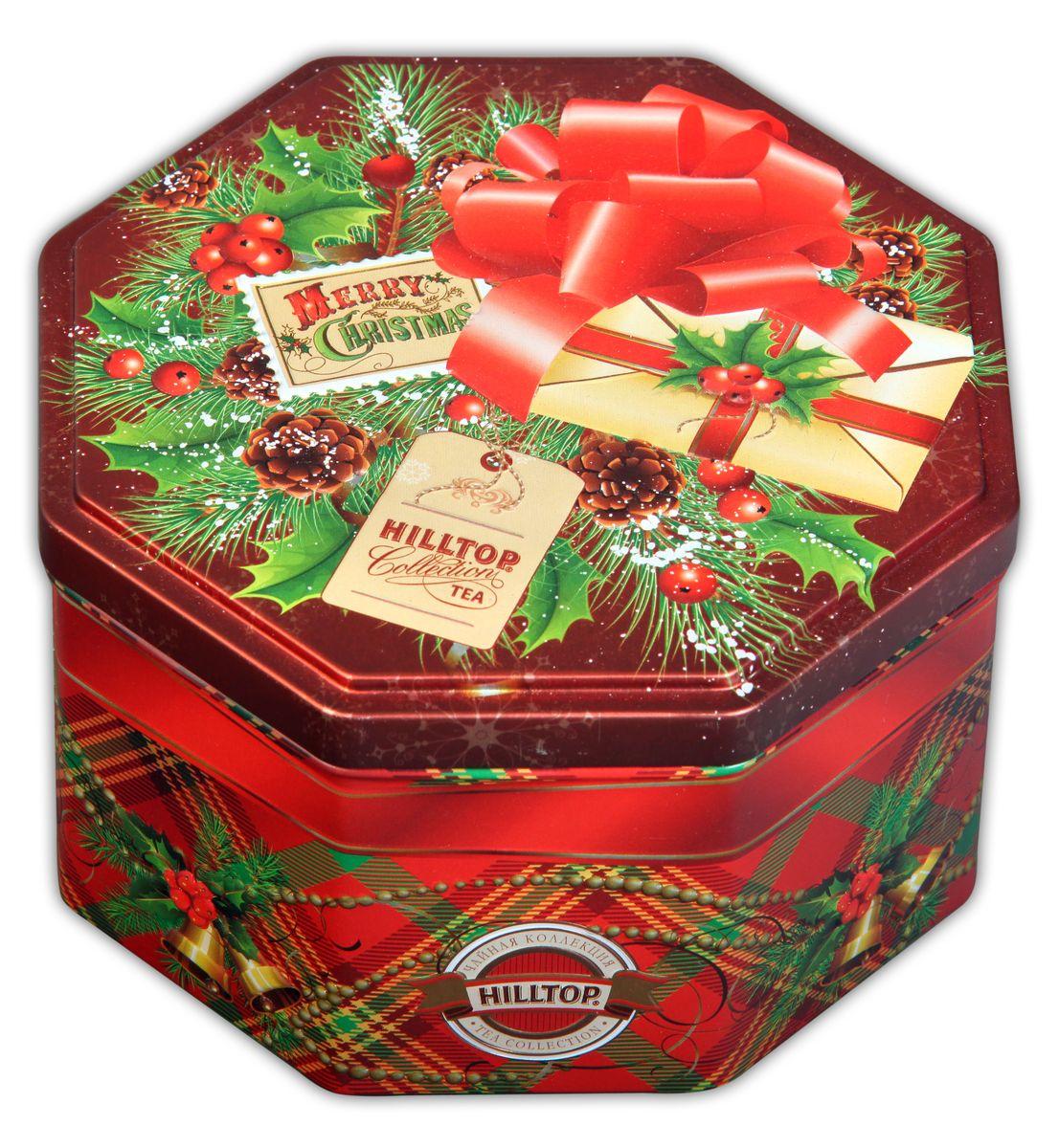 Hilltop С Рождеством Праздничный черный листовой чай, 150 г