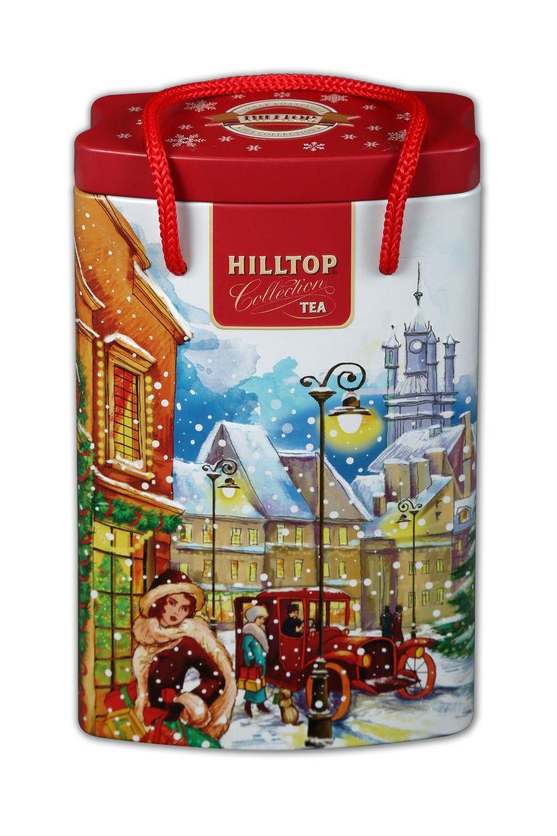 Hilltop За подарками Эрл Грей черный листовой чай, 125 г