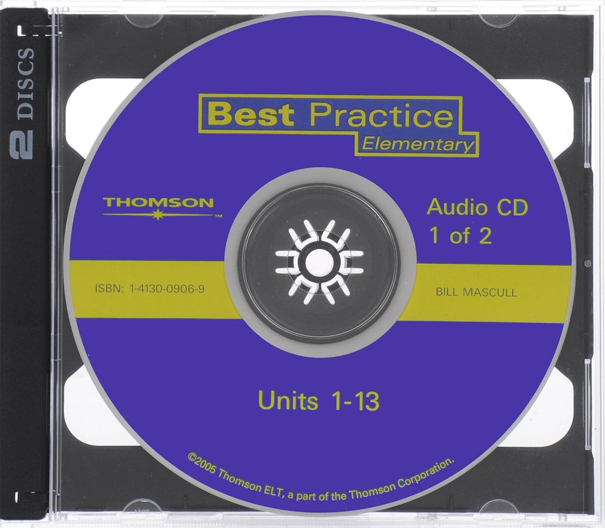 Best Practice: Elementary (аудиокурс на 2 CD) cutting edge elementary аудиокурс на 2 cd