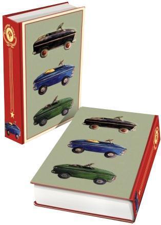 "Декоративная шкатулка ""Советские автомобили"", 17 см х 11 см х 5 см"
