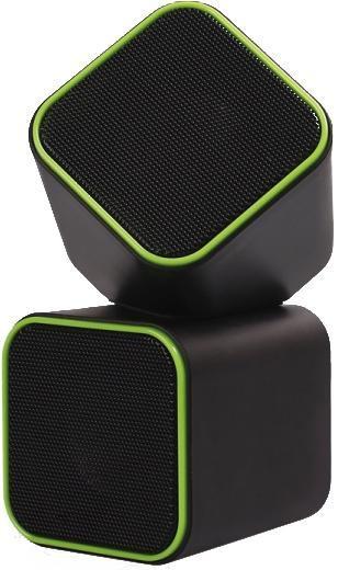 Компьютерная акустика SmartBuy Cute SBA-2580, Black Green цена и фото