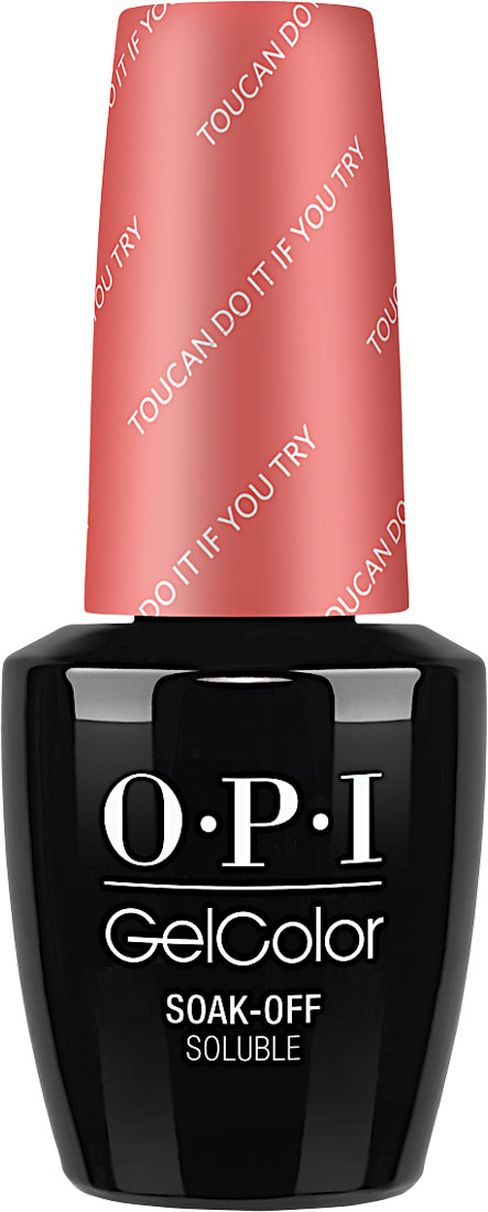 "OPI Гель-лак GelColor ""Toucan do it if you try"", 15 мл"