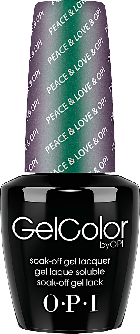 "OPI Гель-лак GelColor ""Peace & Love & OPI"", 15 мл"