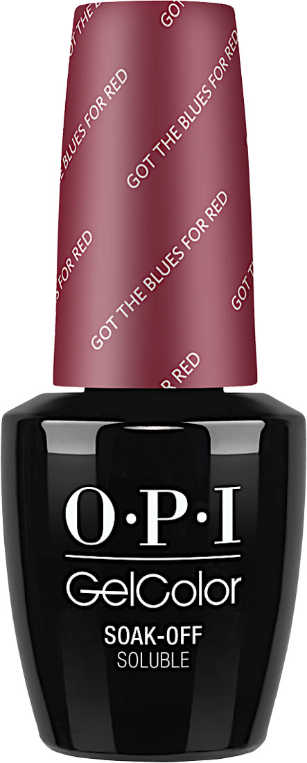 "OPI Гель-лак GelColor ""Got the Blues for Red"", 15 мл"