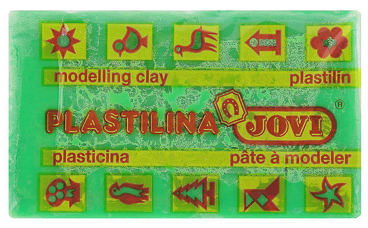 Фото - Jovi Пластилин, цвет: светло-зеленый, 50 г всё для лепки jovi пластилин 10 цветов 250 г блистер европодвес