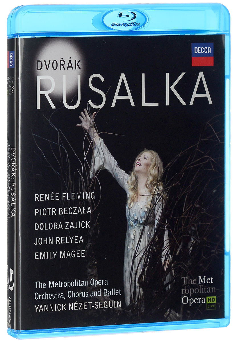 Dvorak: Rusalka (Blu-ray) pair of vintage faux opal water drop earrings jewelry for women