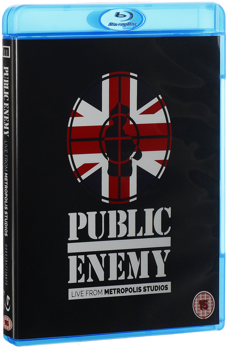 Public Enemy: Live At Metropolis Studios (Blu-ray)