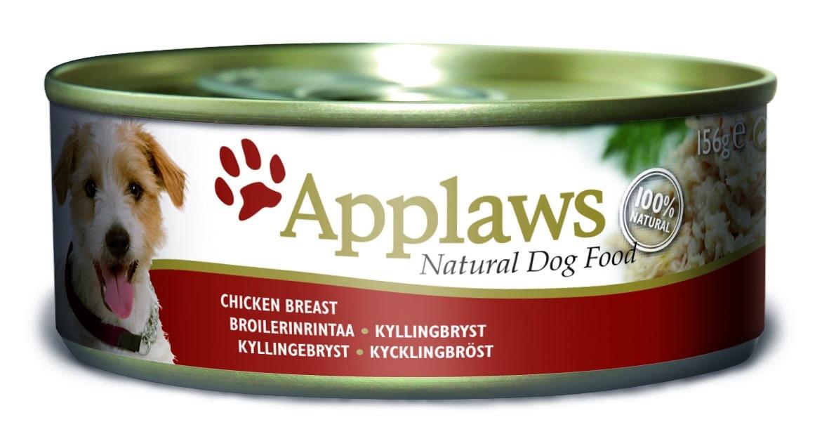 """Консервы """"Applaws"""", для собак, с курицей и рисом, 156 г"""