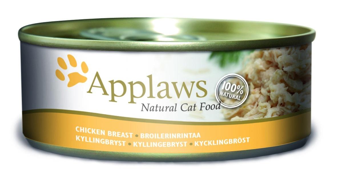"""Консервы """"Applaws"""", для кошек, с куриной грудкой, 156 г"""