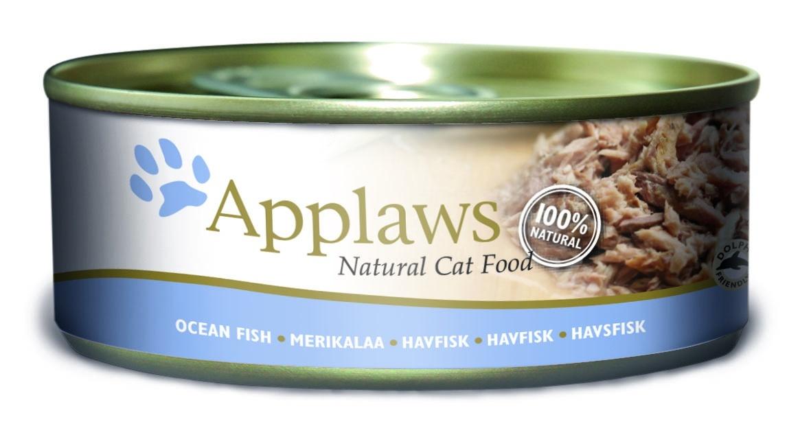 """Консервы """"Applaws"""", для кошек, с океанической рыбой, 156 г"""