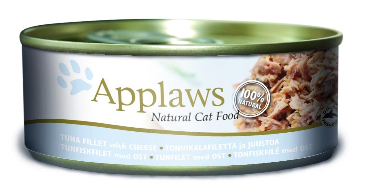 """Консервы для кошек """"Applaws"""", с тунцом и сыром, 156 г"""