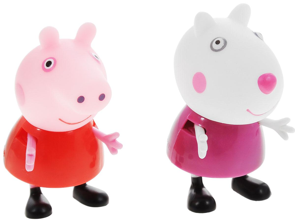 Фото - Peppa Pig Игровой набор Пеппа и Сьюзи игровой набор peppa pig пеппа и сьюзи 2 предмета 28816