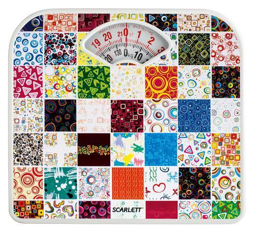 Напольные весы Scarlett SC-BS33M041 Mosaic весы scarlett sc bs33m041