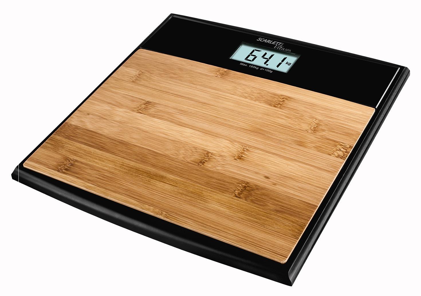 Напольные весы Scarlett SC-BS33E064 Bamboo весы scarlett sc bs33e064