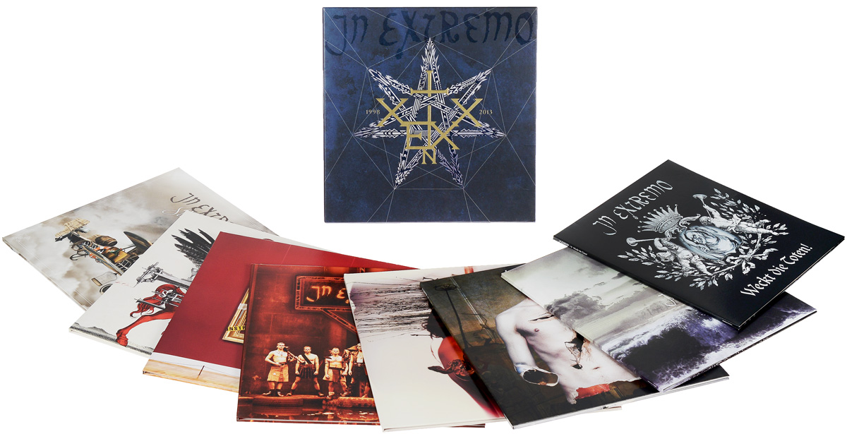 In Extremo In Extremo. 1998-2013. Limited Edition (8 LP) граммофонная пластинка lp lp