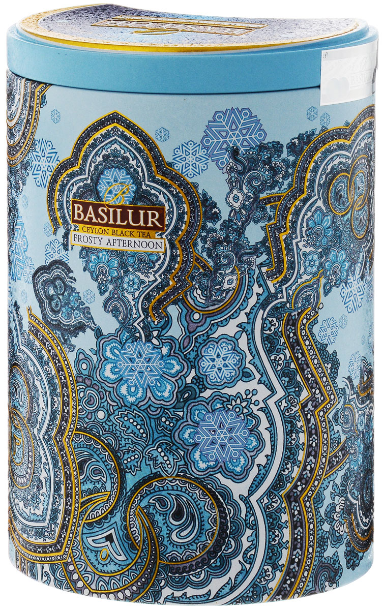Basilur Frosty Afternoon черный листовой чай, 100 г (жестяная банка) basilur frosty evening черный листовой чай 100 г