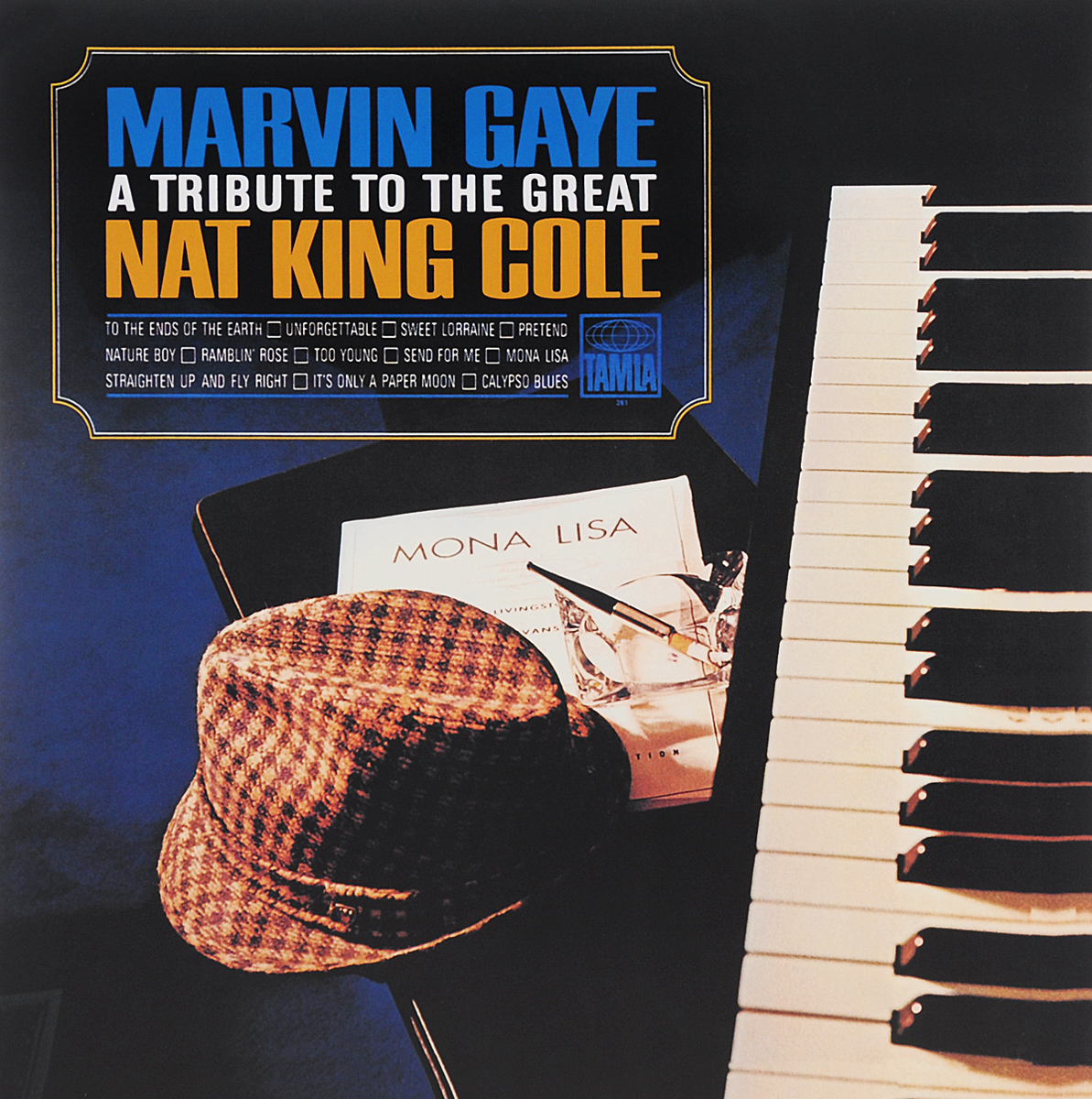 Марвин Гэй Marvin Gaye. A Tribute To The Great Nat King Cole (LP) nat king cole nat king cole the platinum collection 3 lp