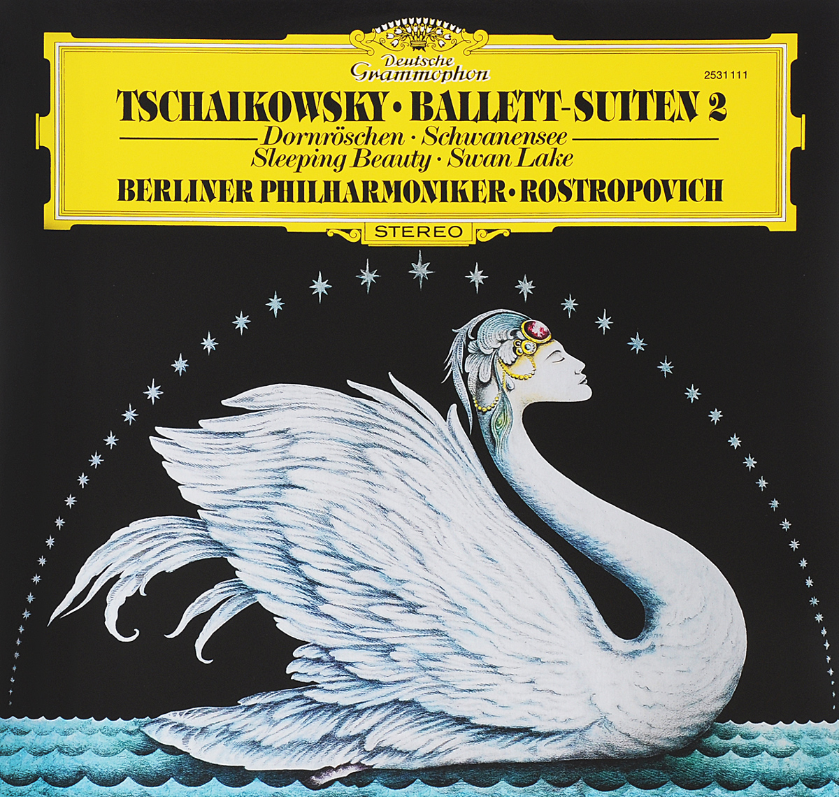 Мстислав Ростропович,Леон Спирер,Эберхард Финк,Berliner Philharmoniker Rostropovich. Tchaikowsky. Ballet-Suiten II (LP) original new innolux 5 6 inch at056tn53 v 1 lcd screen with touch
