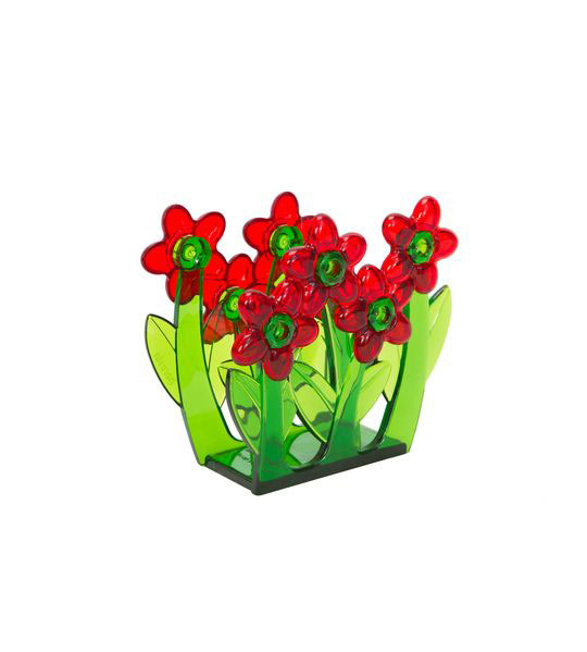 Салфетница Herevin, цвет: красный, зеленый